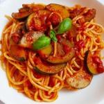 Spaghetti z cukinią w...
