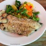 Grillowana ryba z przypra...