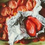 Krem z pieczonych pomidor...