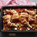 Udka kurczaka z warzywami...