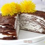 Czekoladowy tort...