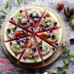 Owocowa  pizza  z arbuza