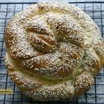 Arabski chlebek z tahini