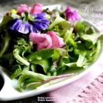Kwiatowa sałata