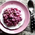Rozowa salatka sledziowa