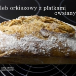 Chleb orkiszowy z platkam...
