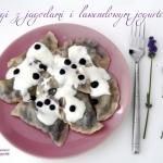 Pierogi orkiszowe z jagod...