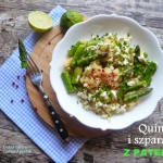 Szparagi i quinoa z...