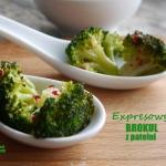 Expresowy brokuł z...