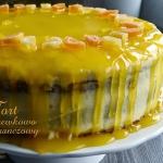 Tort marchewkowy z kremem...