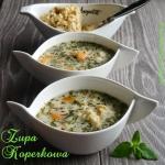 Zupa koperkowa light z...