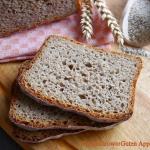 Chleb zytni z maka pszenn...