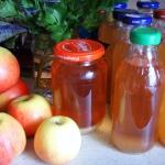Sok z jabłek na zimę....