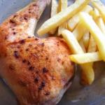 Udka z kurczaka pieczone...