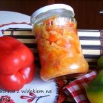 Salatka warzywna na zime ...