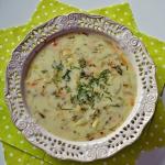 Zupa ogorkowa z ryzem