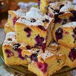 Ciasto biszkoptowe z boro...