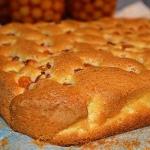 Ciasto ucierane z owocami...