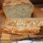 Domowy chleb z płatkami...
