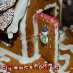 Domek z ciasta miodowego