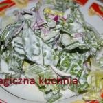 Szybka letnia salatka