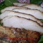 Pieczona piers z kurczaka...