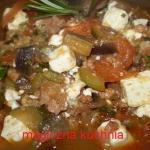 Ptrawka grecka i pomidory...