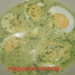Jajka w sosie koperkowym...