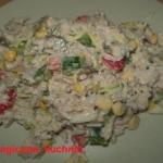 Salatka ryzowo-warzywna z...