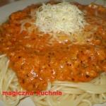 Spaghetti drobiowe z...