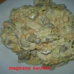Salatka porowo-jajeczna