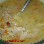 Zupa ziemniaczana z porem