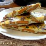 Omlet z rydzami