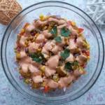 Salatka  gyros  z ryzem