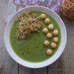 Zupa-krem z sałaty...