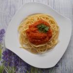 Spaghetti z sosem ze...