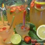 Lemoniada z rabarbarem,...