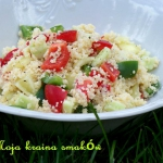 Kolorowa salatka z kuskus...