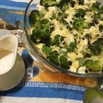 Zapiekanka z brokuła,...