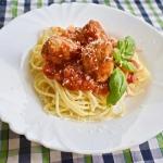 Spaghetti z klopsikami w...