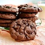 Czekoladowe ciasteczka br...