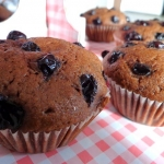 Muffiny z czarną...