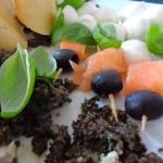 Pasta z czarnych oliwek
