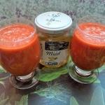 Koktajl malinowo pomaranc...