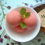 Lody arbuzowo - jogurtowe...