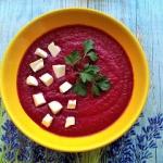 Zupa krem buraczkowo -...