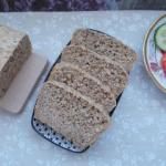 Chleb orkiszowy z oliwą...