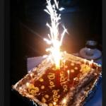 tort z wkładką...