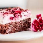 Ciasto czekoladowe z wisn...