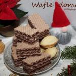 Wafle domowe I (kakaowe)